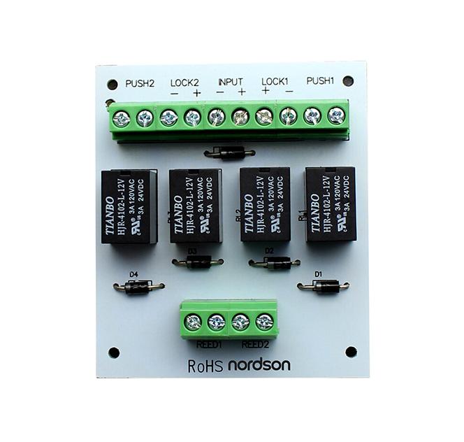X505 Interlock Module for double-door interlocking