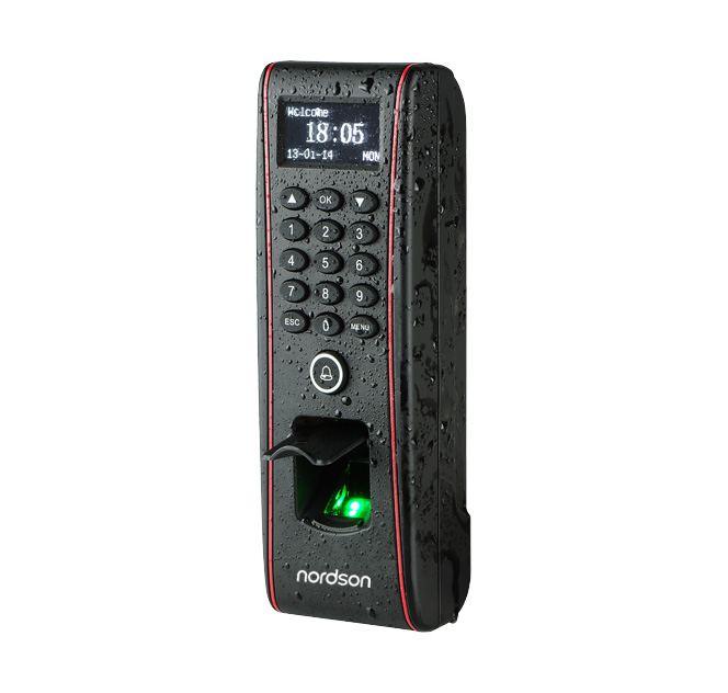 FR-W1600 IP65 Waterproof Fingerprint Access Control with Time Attendance Terminal