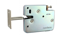 NI-S21 Built-in Elastic Force Metal Cabinet Lock
