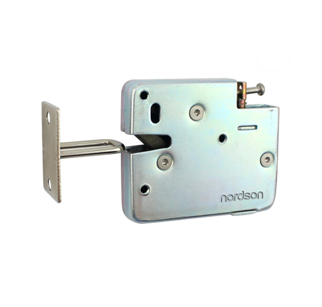 NI-S21 Built-in Elastic Force Metal Cabinet Lock