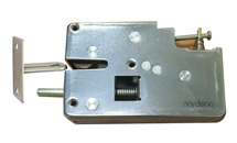 NI-S90 Large Elastic  All-Metal Cabinet Lock