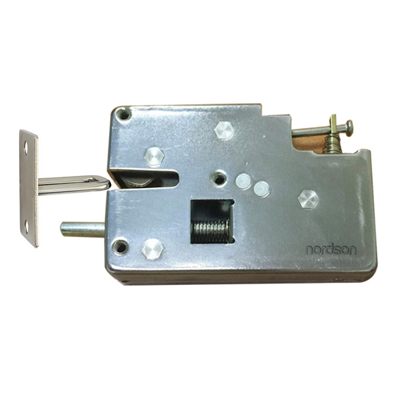 NI-S90 Large Elastic  All-Metal Cabinet Lock