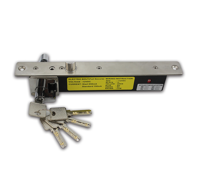 NI-400TO Electric Bolt Lock with Beveled Reversible Latch Bolt