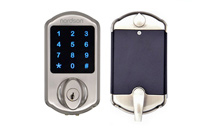 D2MF Touch screen smart deadbolt lock