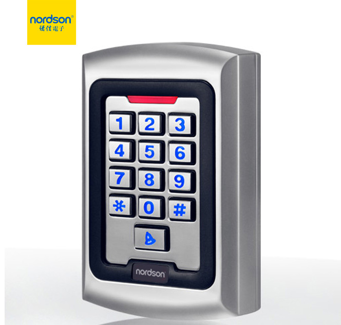 NT-280W metal waterproof keypad card door access controller