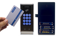 EB03-S Smart Rfid card keypad cabinet lock