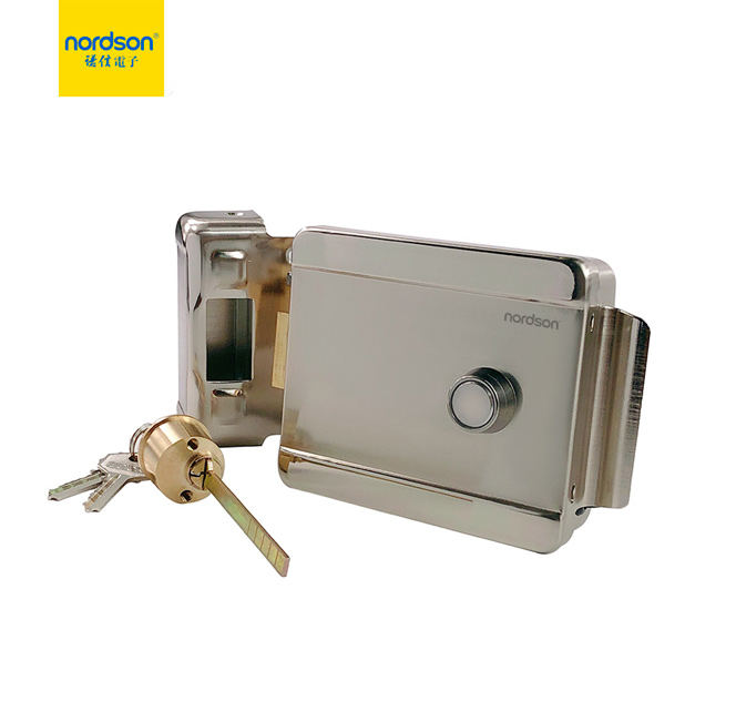 ND-1600A Electric Control Rim Lock With Button