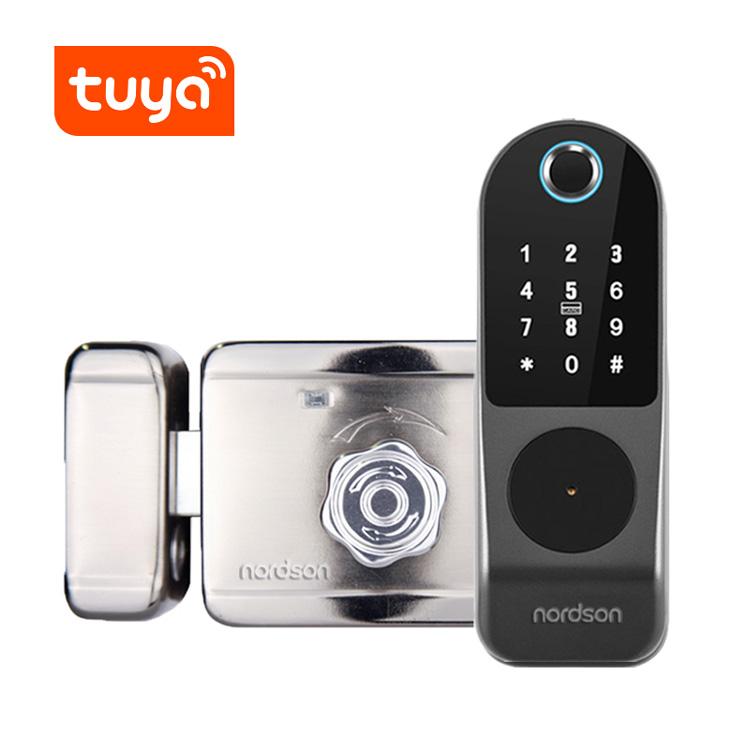 S201WT TUYA APP WIFI Fingerprint Intelligent Rim Lock