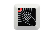 NF-C6 Surface Mounted Infrared Touchless exit button